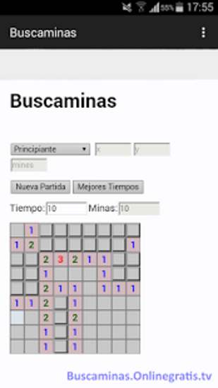 buscaminas android